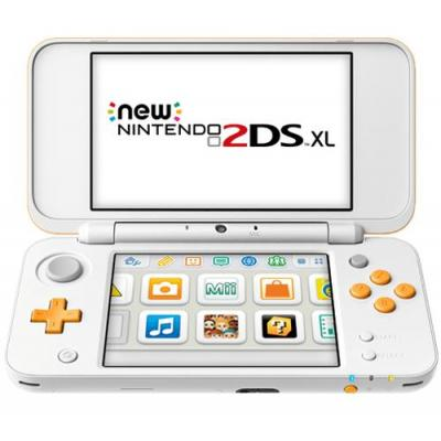 Nintendo portable game console: New 2DS XL - Oranje, Wit