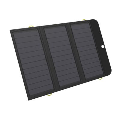 Sandberg Solar Charger 21W 2xUSB+USB-C Powerbank - Zwart