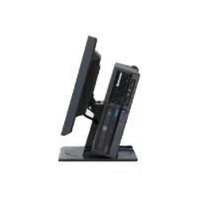 Lenovo Vertical Monitor/PC Stand monitorarm - Zwart
