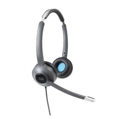 Cisco 522 Headset - Zwart,Grijs