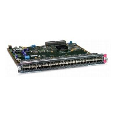 Cisco netwerk switch module: Catalyst 6500 48 port 100Base-X module (require SFP), Spare