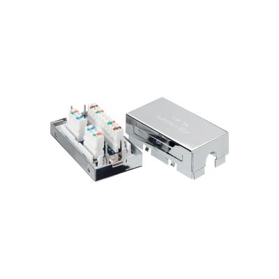 Equip kabel connector: Cat.5e Shielded Junction Box - Zilver