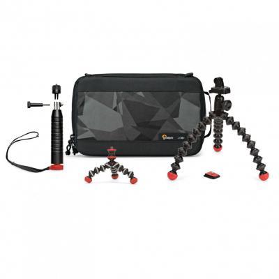 Joby : Action Base Kit - Zwart, Grijs