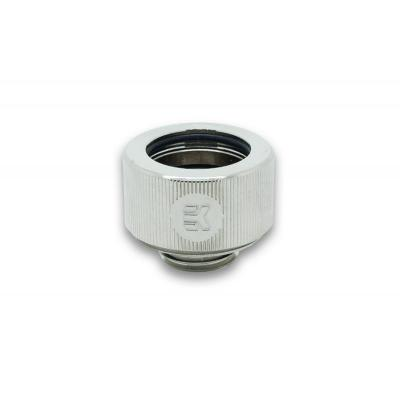 Ek water blocks cooling accessoire: EK-HDC Fitting 16mm G1/4 - Nickel - Blauw, Nikkel