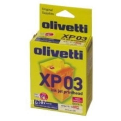 Olivetti XP03 Printkop - Zwart,Cyaan,Magenta,Geel