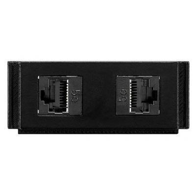 Amx inbouweenheid: HPX-N102-RJ45 - Zwart
