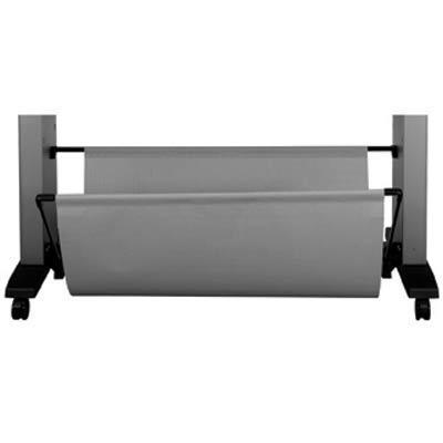 Hp multimedia kar & stand: Designjet 60-in Media Bin - Zwart, Grijs
