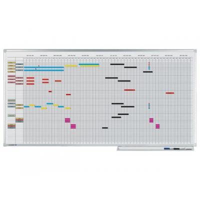 Legamaster kalander: Planbord Lega 50x150 Pro 30pers jaar