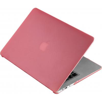 "Estuff laptop accessoire: SatinShell for MacBook 13"" Air Frosted Pink - Roze"