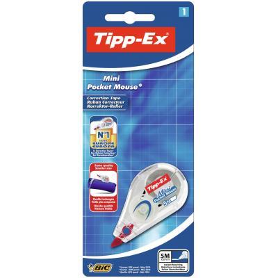 Tipp-ex film/tape correctie: Mini Pocket Mouse Blister 1 - Wit