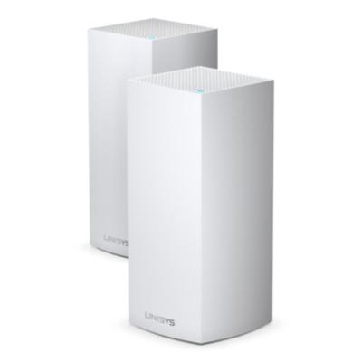 Linksys AX5300 MU-MIMO Tri-Band Gigabit, 1147+2402+1733 Mbps, WLAN 802.11, LAN, USB, 2 Pack, 1.59 kg, White .....