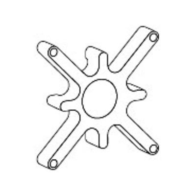 Ergotron Spacer Kit Montagekit - Zwart