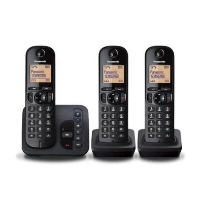 Panasonic dect telefoon: KX-TGC223 - Zwart