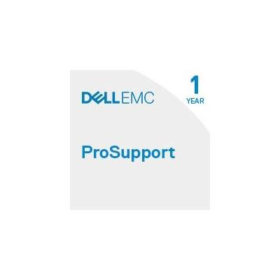 Dell garantie: Limited lifetime warranty – 1Y ProSupport with Mission Critical