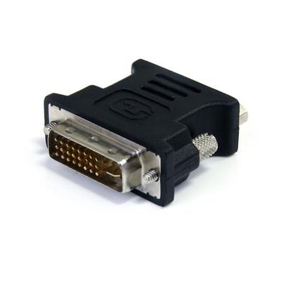 StarTech.com DVI naar VGA Verloopkabel Zwart M/F Kabel adapter