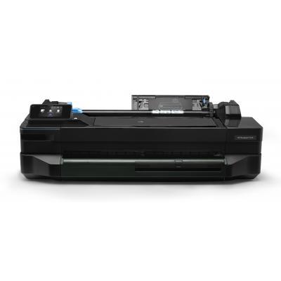 Hp grootformaat printer: Designjet Designjet T120 610-mm ePrinter - Zwart, Cyaan, Magenta, Geel
