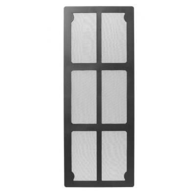 Corsair luchtfilter: Carbide Air 540 Front Magnetic Dust Filter - Zwart, Wit