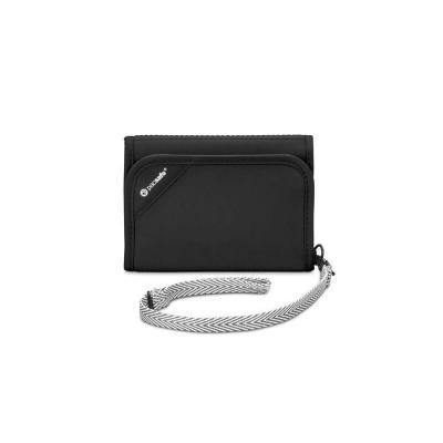 Pacsafe portemonnee: V125 - Zwart