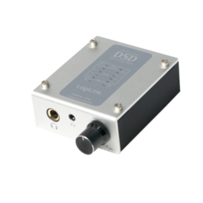 LogiLink UA0271 Audio converter - Zwart, Metallic