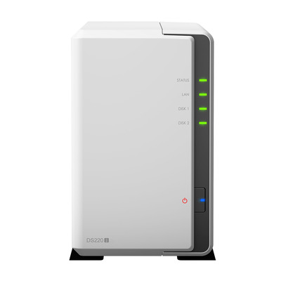 Synology DiskStation DS220j NAS - Wit