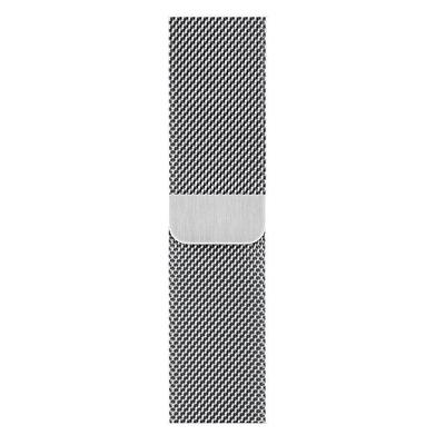 Apple Zilverkleurig Milanees bandje (44 mm)
