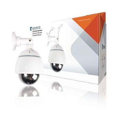 König : Dome Dummy Camera IP44 White - Wit