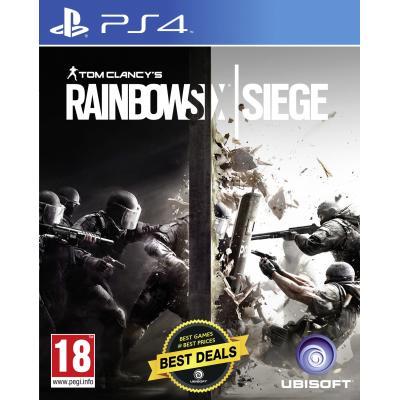 Ubisoft game: Tom Clancy's Rainbow Six: Siege  PS4