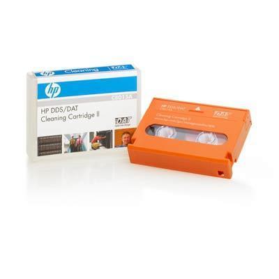 Hewlett packard enterprise reinigingstape: HP DDS/DAT Cleaning Cartridge II - Oranje
