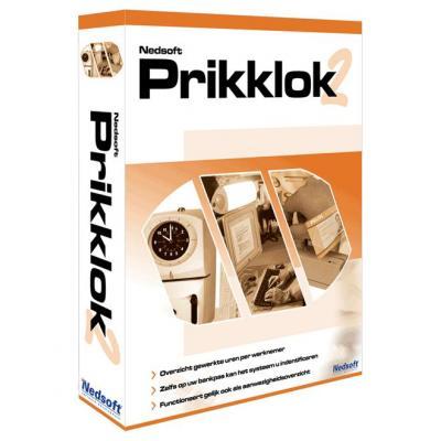 Nedsoft boekhoudpakket: Prikklok 2
