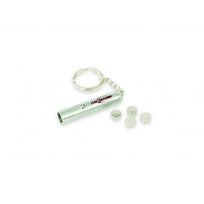 Ansmann zaklantaarn: Mini-Keychain-Light - 4.5g, 5m, 4h, 4xLR41 - Metallic
