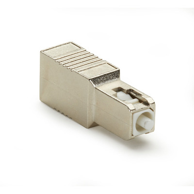 Black Box M/F SC, UPC, 10dB Fiber optic adapter - Goud