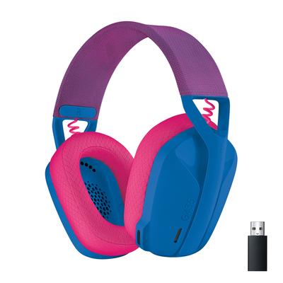 Logitech G G435 Headset - Blauw,Roze