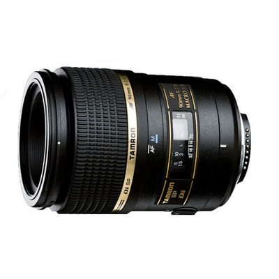 Tamron camera lens: SP AF90mm F/2.8 Di 1:1 Macro - Zwart