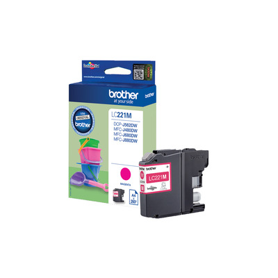 Brother LC-221M inktcartridge
