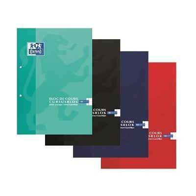Elba OXFORD BL COURS A4 90G 100F 1L Schrijfblok - Multi kleuren