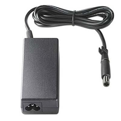 Hp netvoeding: AC Smart pin slim power adapter (90-watt) - Zwart