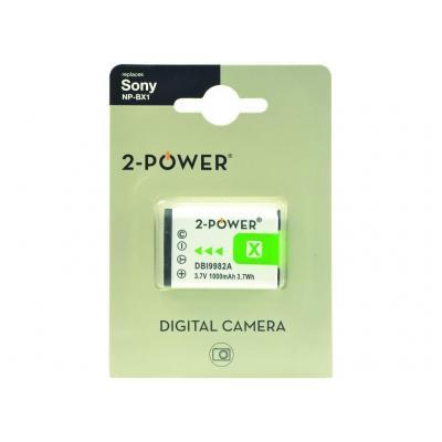 2-power batterij: Li-Ion, 3.7V, 950mAh - Multi kleuren