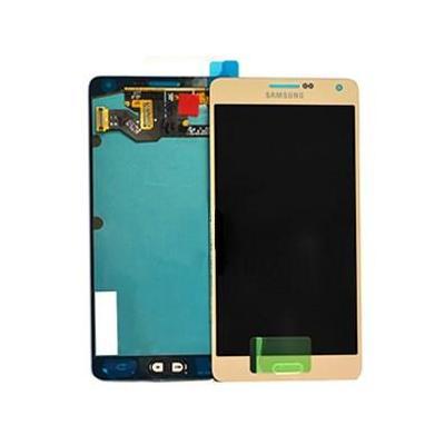 Samsung mobile phone spare part: A700F Galaxy A7 LCD Display Module - Goud