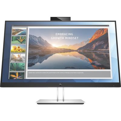 HP E24d G4 Monitor - Grijs