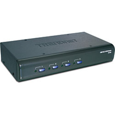 Trendnet TK-423K 4-Port USB / PS/2 Kit w/ Audio KVM switch