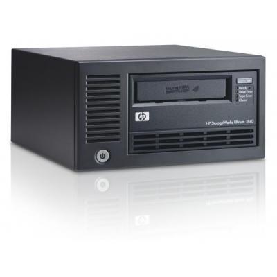Hewlett packard enterprise tape drive: StorageWorks LTO4 Ultrium 1840 SAS - Zwart