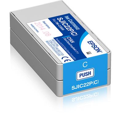 Epson SJIC22P(C) Inktcartridge - Cyaan