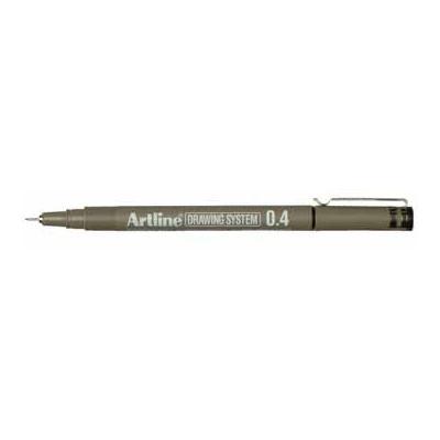 Artline viltstift: DRAWING SYSTEM ZWART EK234 04
