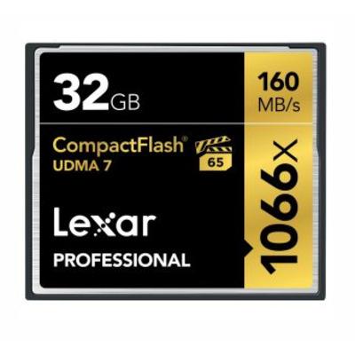 Lexar CF 32GB 1066x Flashgeheugen - Multi kleuren