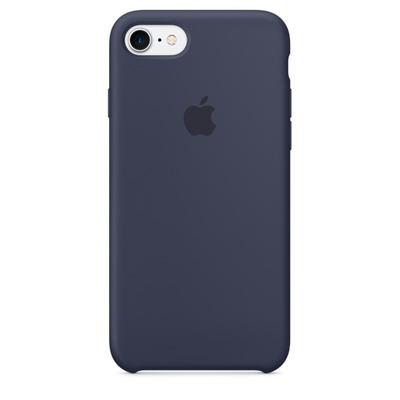 Apple mobile phone case: Siliconenhoesje voor iPhone 7 - Middernachtblauw
