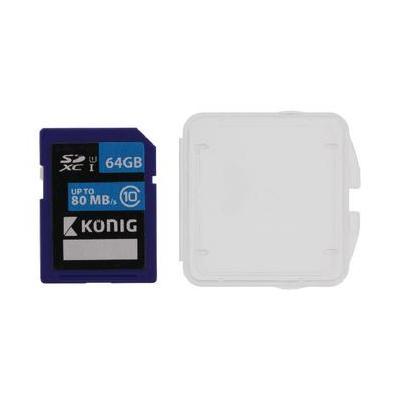 König 64 GB SDXC, UHS-I, 80/45 MB/s