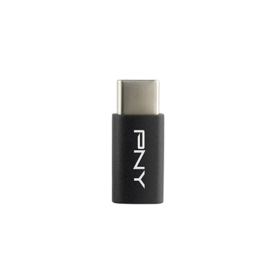 PNY Type-C to Micro-USB Adapter Kabel adapter - Zwart