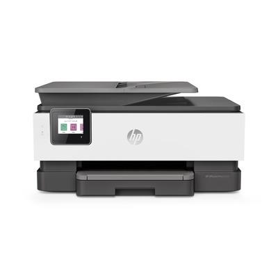 HP 8022e + Multifunctional - Zwart, Cyaan, Magenta, Geel