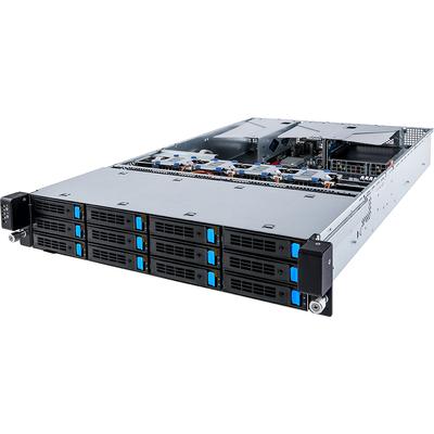 Gigabyte R280-A3C Server barebone - Zwart,Grijs