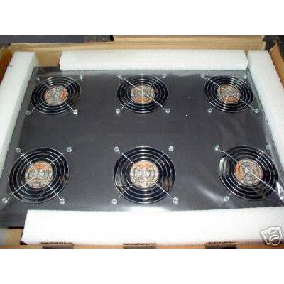 Hewlett packard enterprise rack toebehoren: HP 10K 220V Graphite Roof Mount Fan Kit - Zwart
